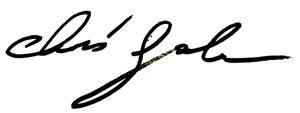 chris galus signature