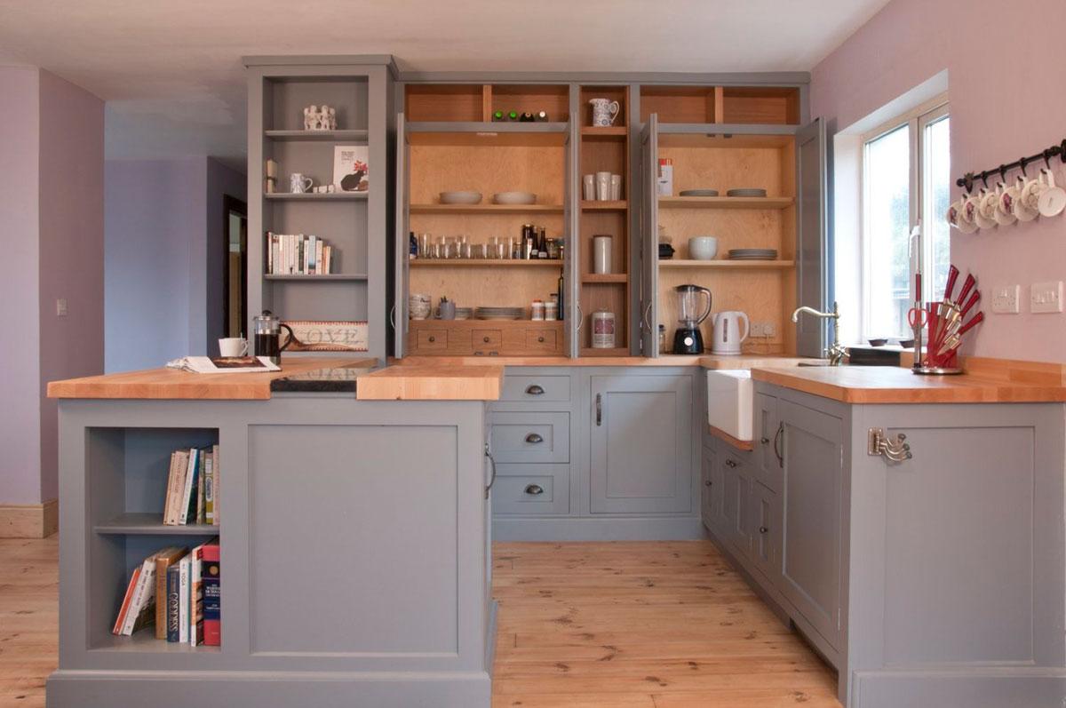 Bespoke hand painted kitchen